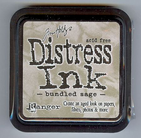 Tim Holtz Distress Ink Pad from Ranger - Bundled Sage